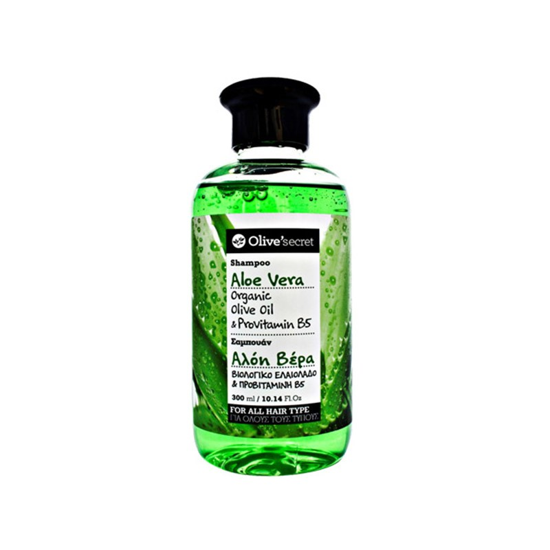 Shampoo mit Aloe Vera - 300 ml - Olive Secret