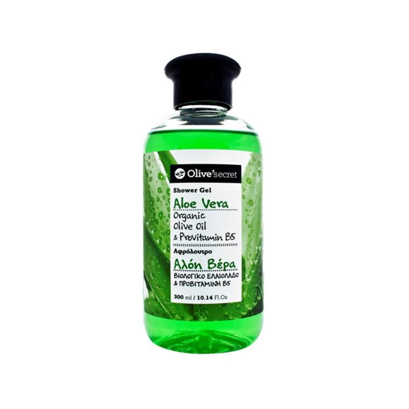 Duschgel mit Aloe Vera - 300 ml - Olive secret