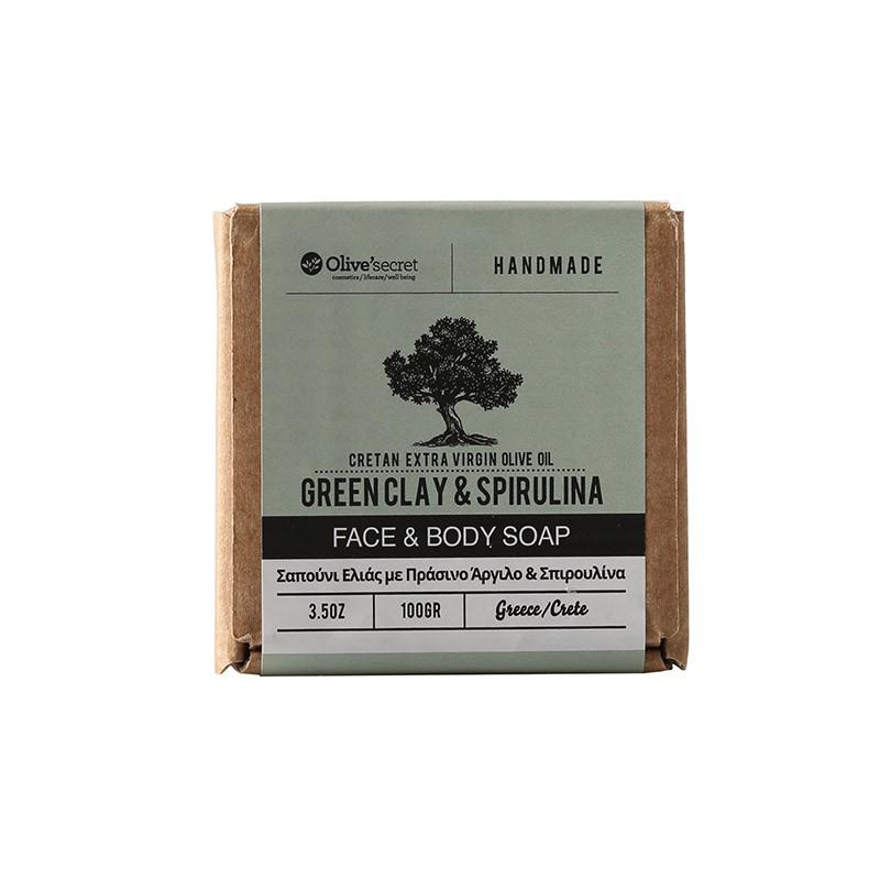 Gesichts-und Körperseife - 100 g - Olive Secret