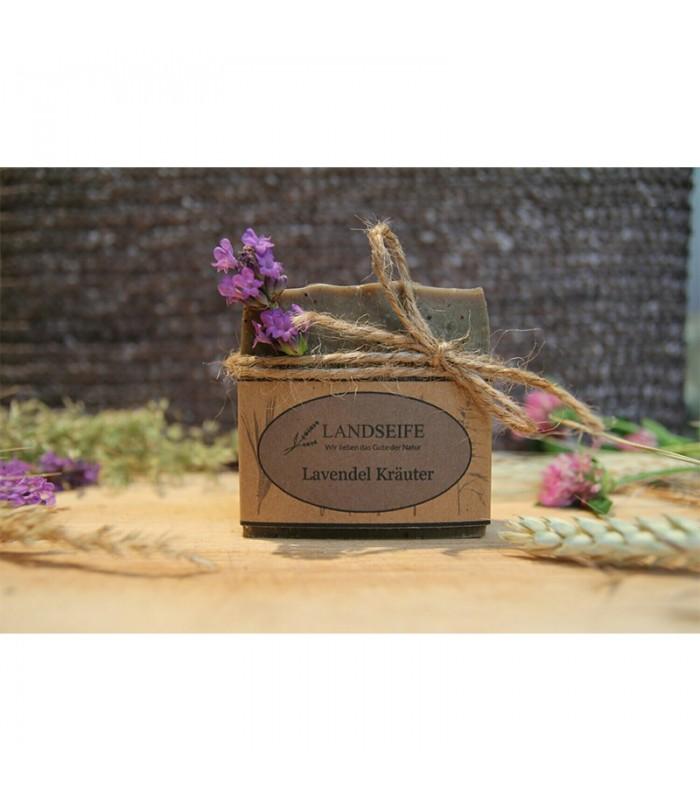 Landseife - Lavendel Kräuter