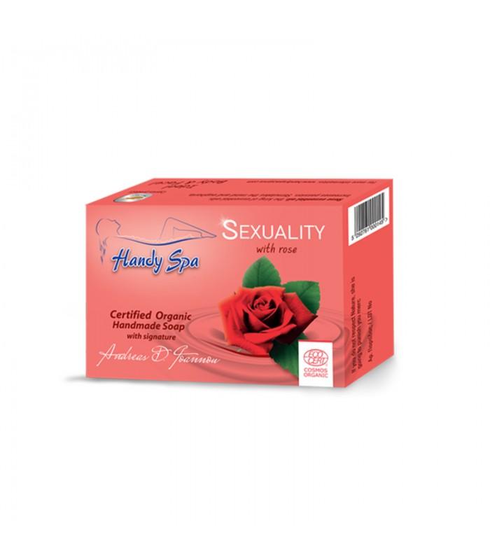 Handyspa Sexualitätsseife mit Rose