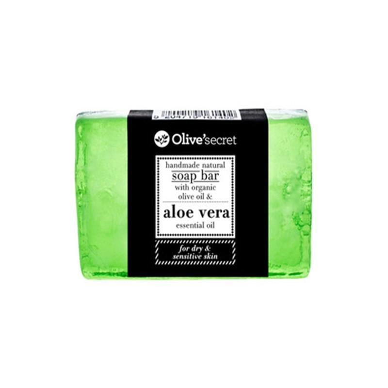 Handseife mit Aloe Vera - 100 g - Olive Secret