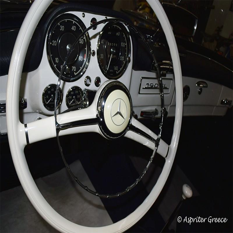 Mercedes Cabrio SL190 + Hardtop