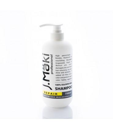 J.Mäki Professional Repair Shampoo 750ml