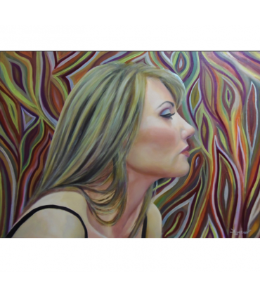 Oblivion by Angeliki, 50x70cm, oil on streched canvas. EUR 750