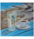 Greek morning! by Angeliki, 20x20cm, oil on streched canvas. EUR 90